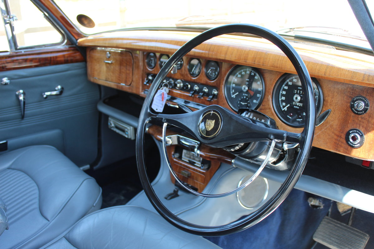1966 Jaguar 3.8 S type Automatic With Power Steering  SOLD (picture 5 of 6)