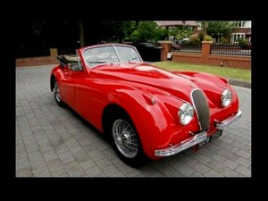 Original 1954 RHD Jaguar XK120 DHC SE Offers / Px