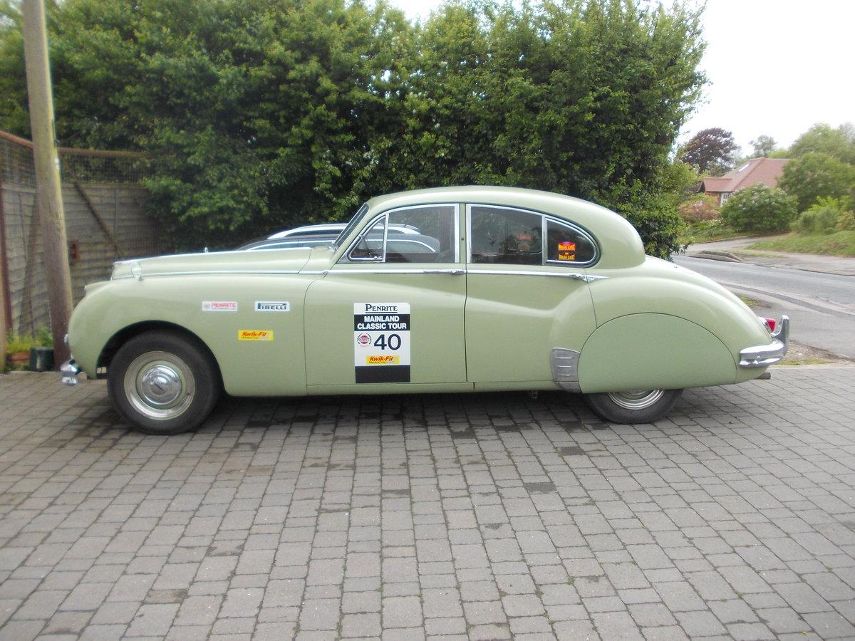 1955 Jaguar MK VII M SOLD   Car And Classic