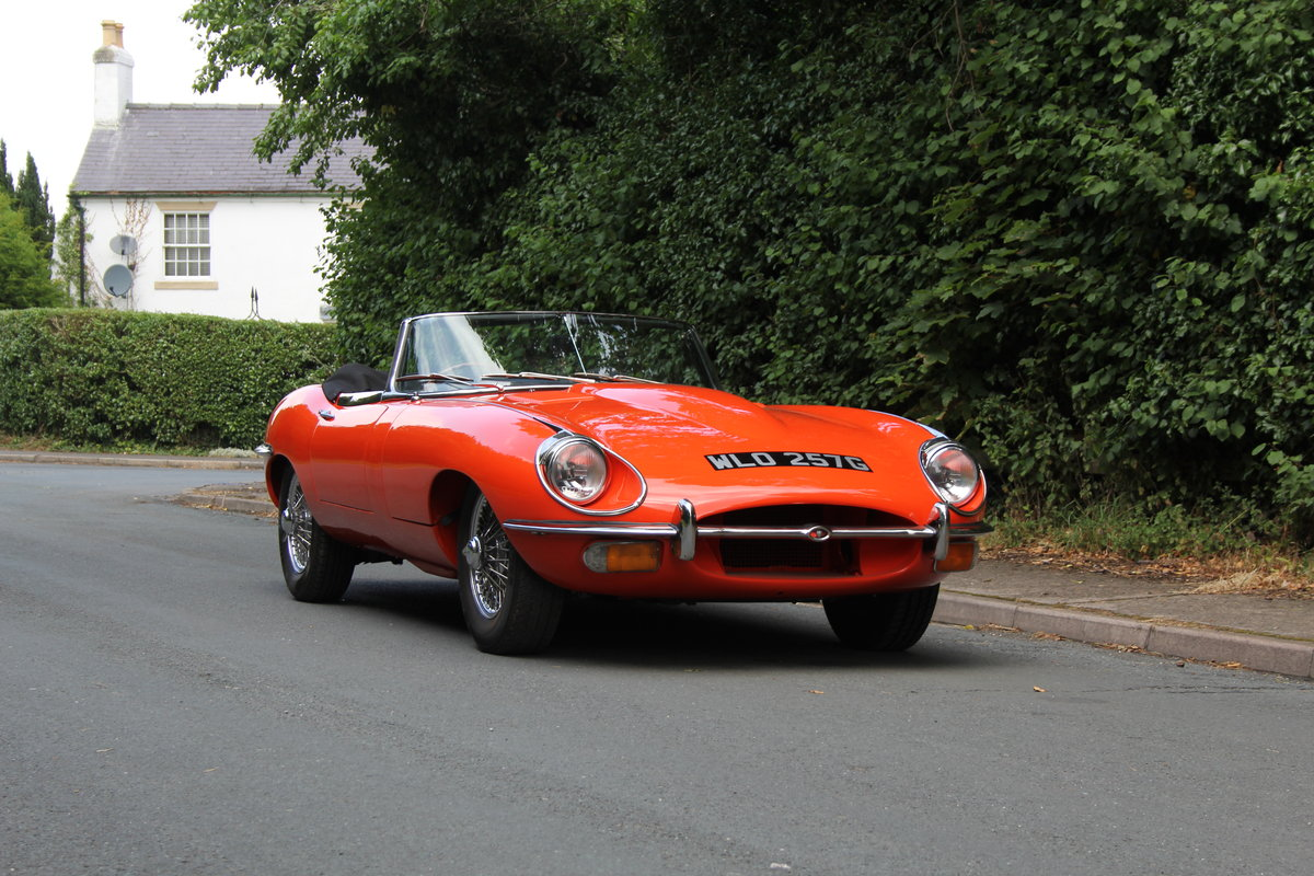 1969 Jaguar E-Type SII - UK Matching No's 'Special Factory Order' For Sale (picture 1 of 12)