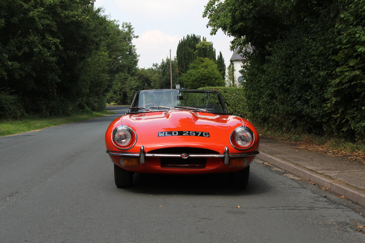 1969 Jaguar E-Type SII - UK Matching No's 'Special Factory Order' For Sale (picture 2 of 12)
