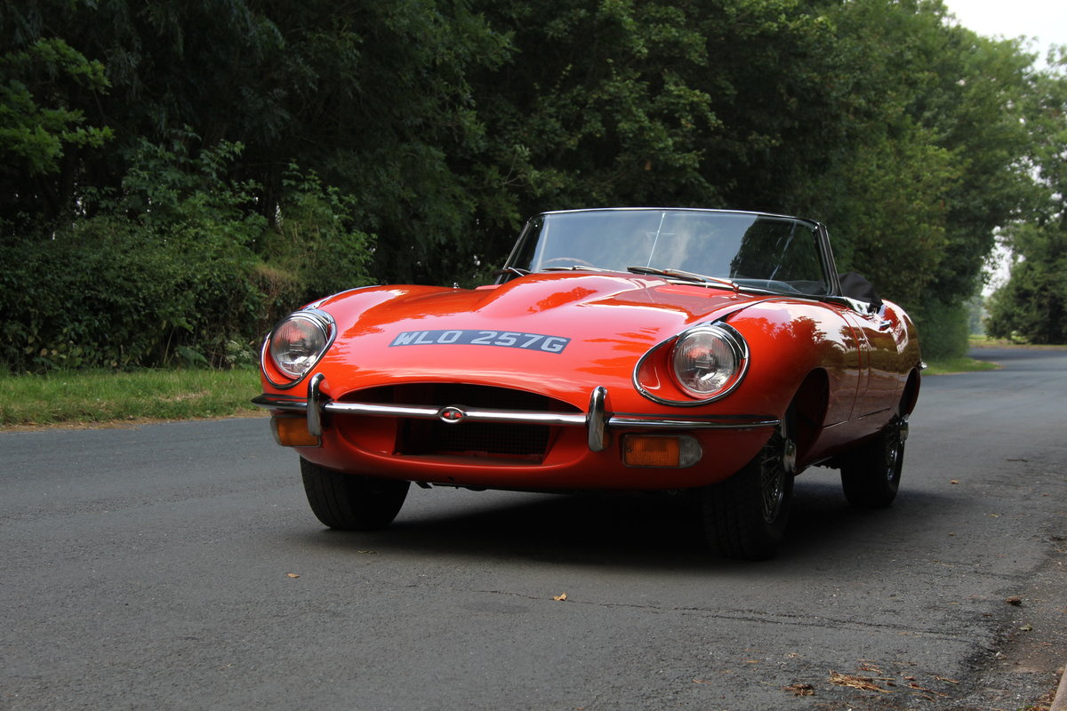1969 Jaguar E-Type SII - UK Matching No's 'Special Factory Order' For Sale (picture 3 of 12)