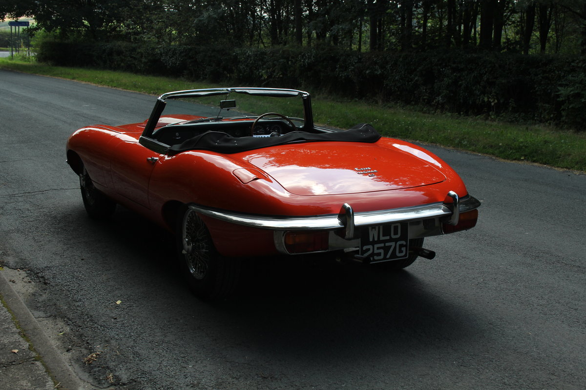 1969 Jaguar E-Type SII - UK Matching No's 'Special Factory Order' For Sale (picture 4 of 12)