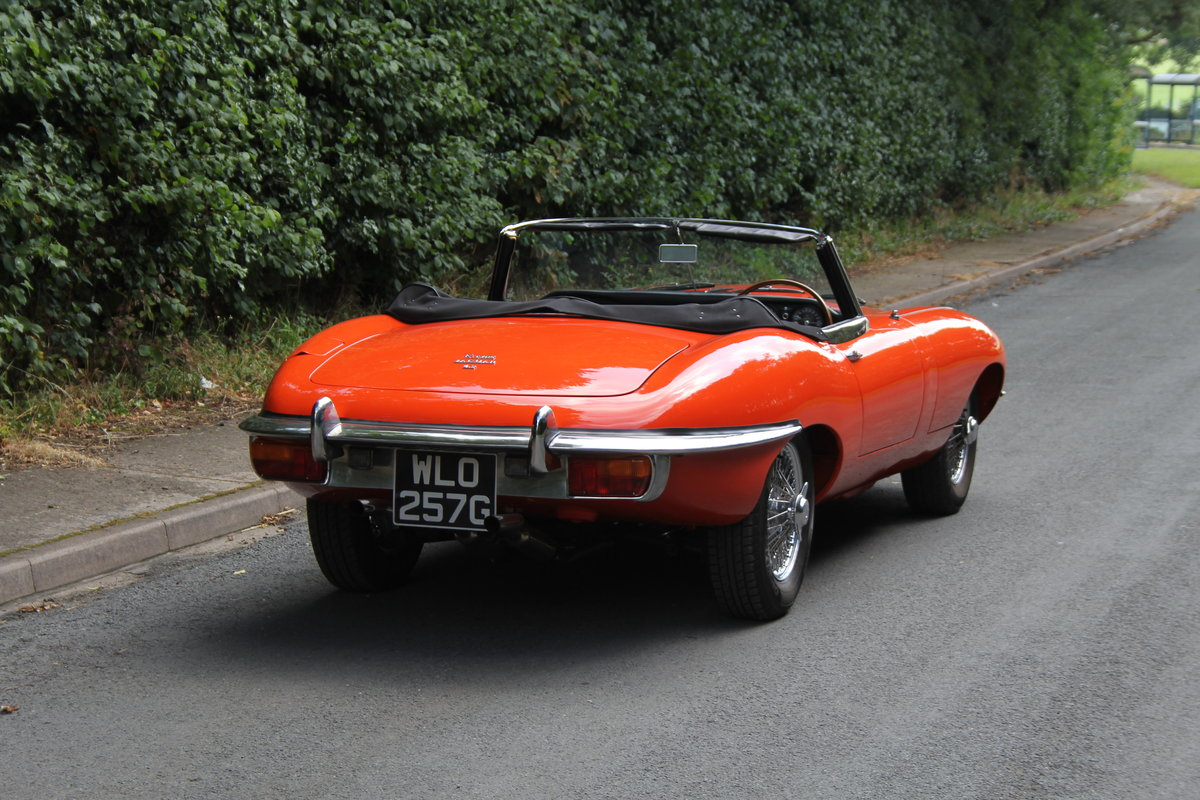 1969 Jaguar E-Type SII - UK Matching No's 'Special Factory Order' For Sale (picture 5 of 12)
