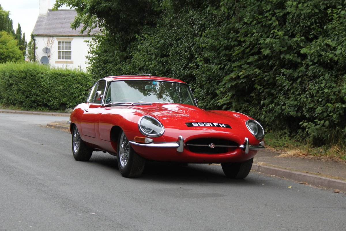1962 Jaguar E-Type Series One 3.8 FHC - UK car, Matching No's For Sale (picture 1 of 23)