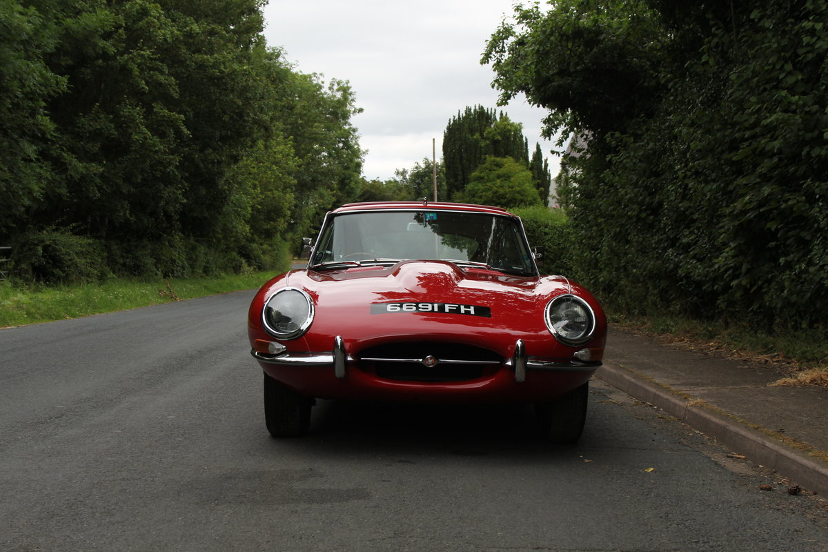 1962 Jaguar E-Type Series One 3.8 FHC - UK car, Matching No's For Sale (picture 2 of 23)