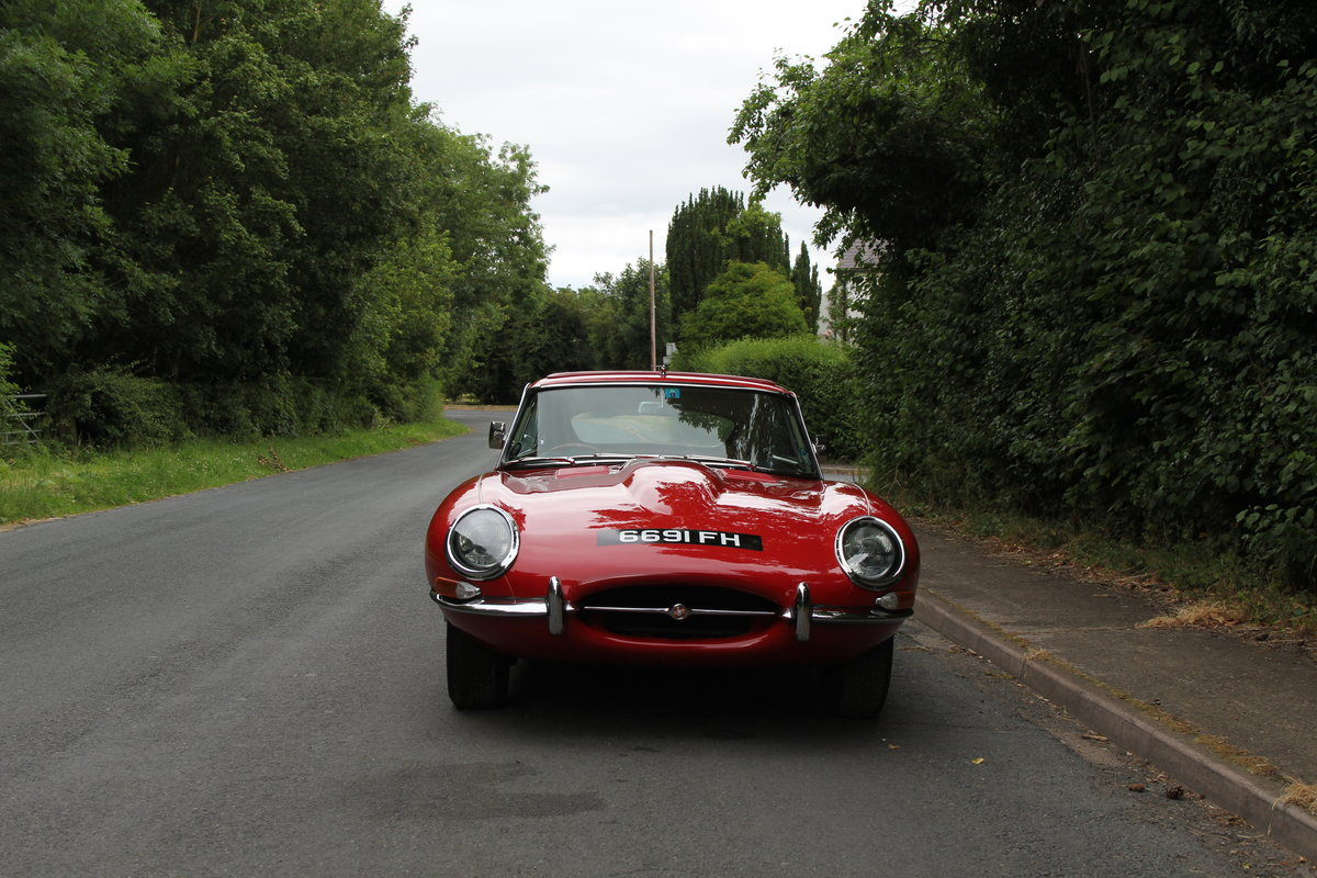 1962 Jaguar E-Type Series One 3.8 FHC - UK car, Matching No's For Sale (picture 3 of 23)