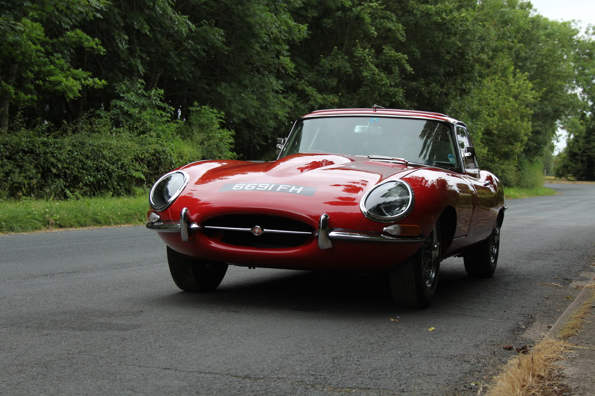 1962 Jaguar E-Type Series One 3.8 FHC - UK car, Matching No's For Sale (picture 4 of 23)