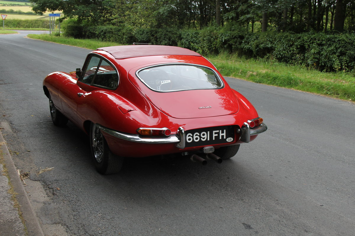 1962 Jaguar E-Type Series One 3.8 FHC - UK car, Matching No's For Sale (picture 5 of 23)