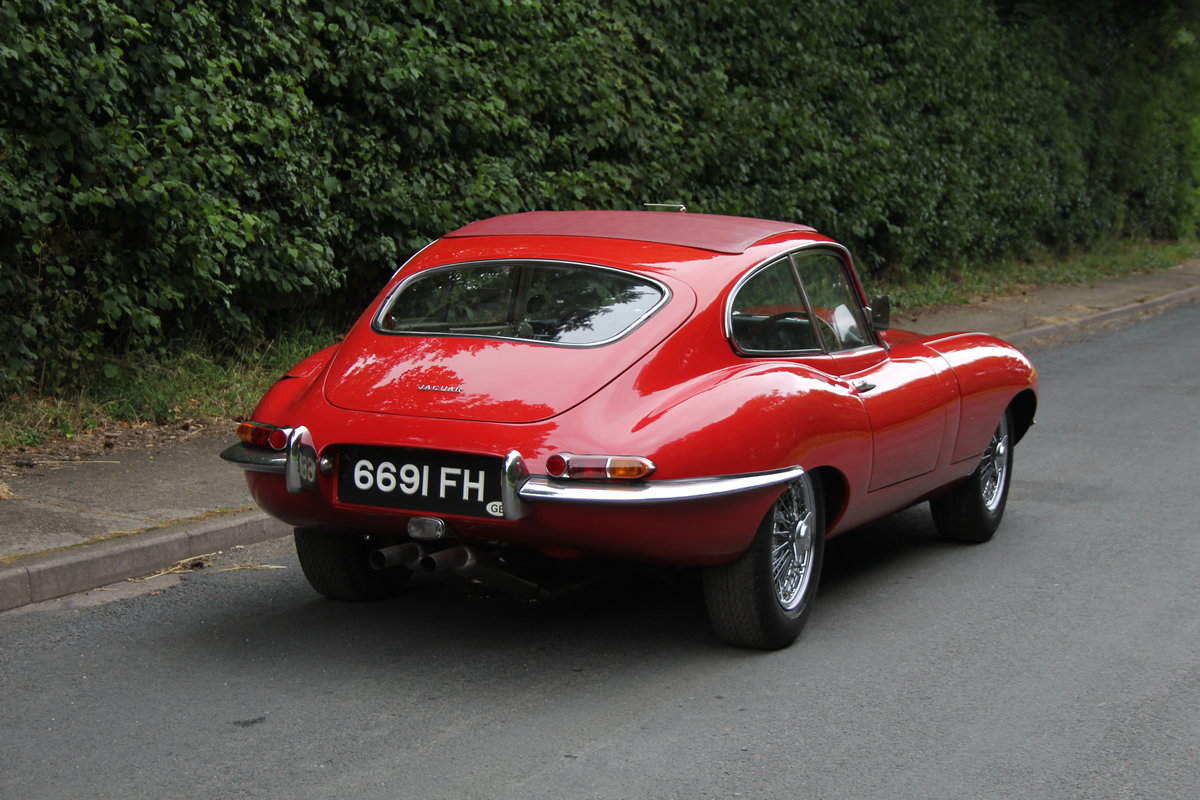 1962 Jaguar E-Type Series One 3.8 FHC - UK car, Matching No's For Sale (picture 7 of 23)