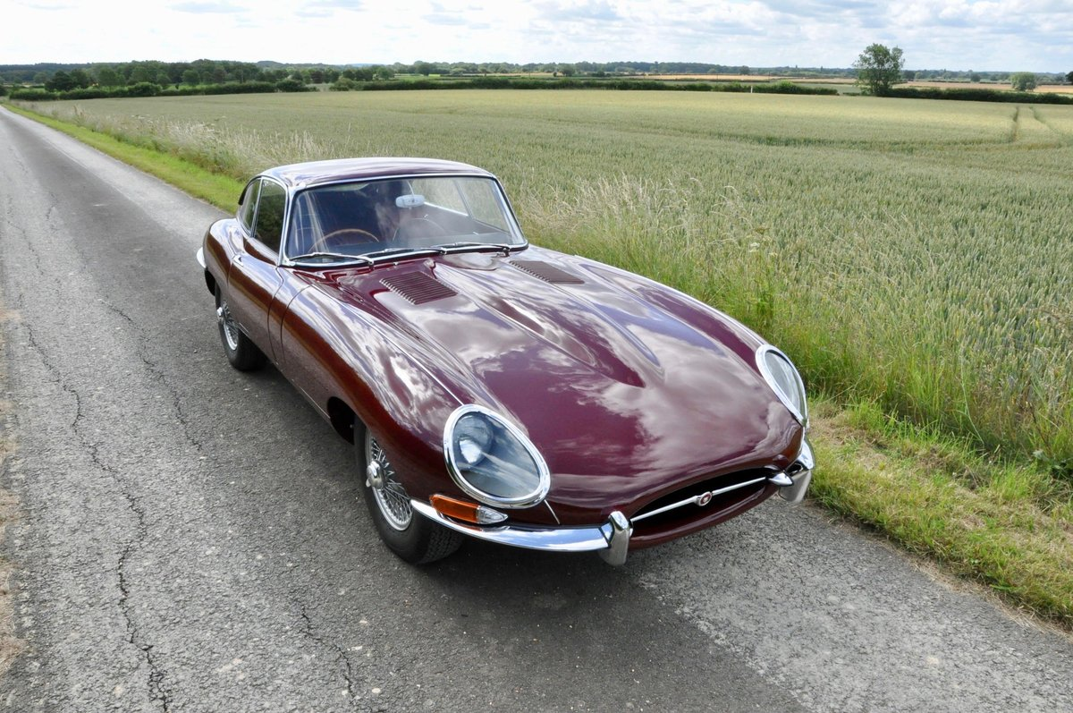Fully Restored - 1961 Jaguar E-Type 3.8 Flat-floor RHD For Sale (picture 1 of 6)