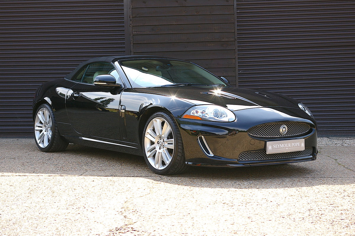 2010 Jaguar XKR 5.0 V8 S/C Convertible Automatic (33,000 miles) SOLD (picture 1 of 6)