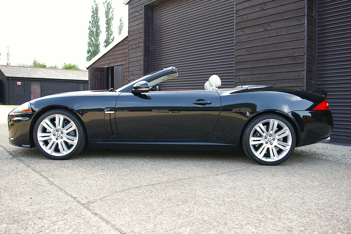 2010 Jaguar XKR 5.0 V8 S/C Convertible Automatic (33,000 miles) SOLD (picture 2 of 6)