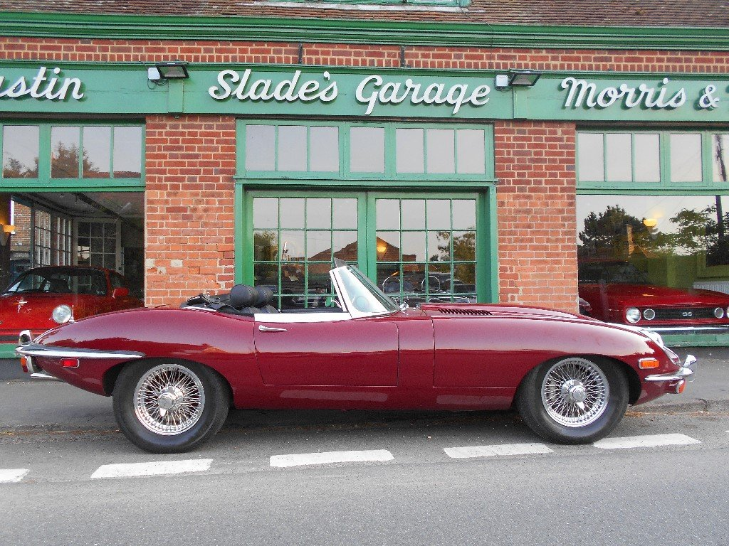 1970 Jaguar E-Type 4.2 Series II Roadster LHD  SOLD (picture 1 of 4)