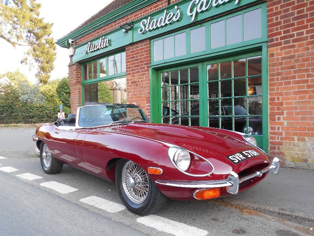 1970 Jaguar E-Type 4.2 Series II Roadster LHD  SOLD (picture 2 of 4)
