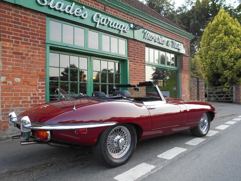 1970 Jaguar E-Type 4.2 Series II Roadster LHD  SOLD (picture 3 of 4)