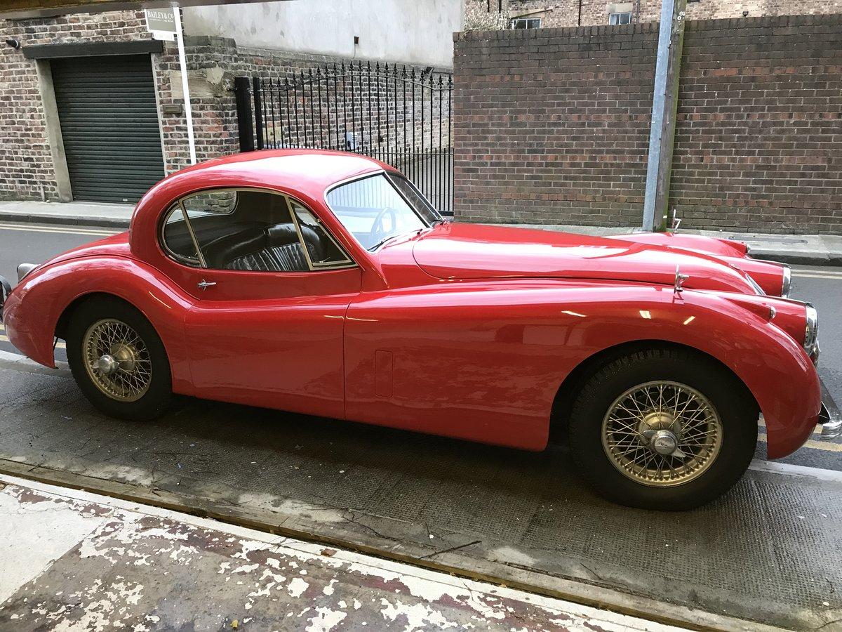 1953 Jaguar XK 120 se FHC . For Sale (picture 1 of 6)