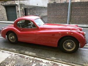 1953 Jaguar XK 120 se FHC . For Sale
