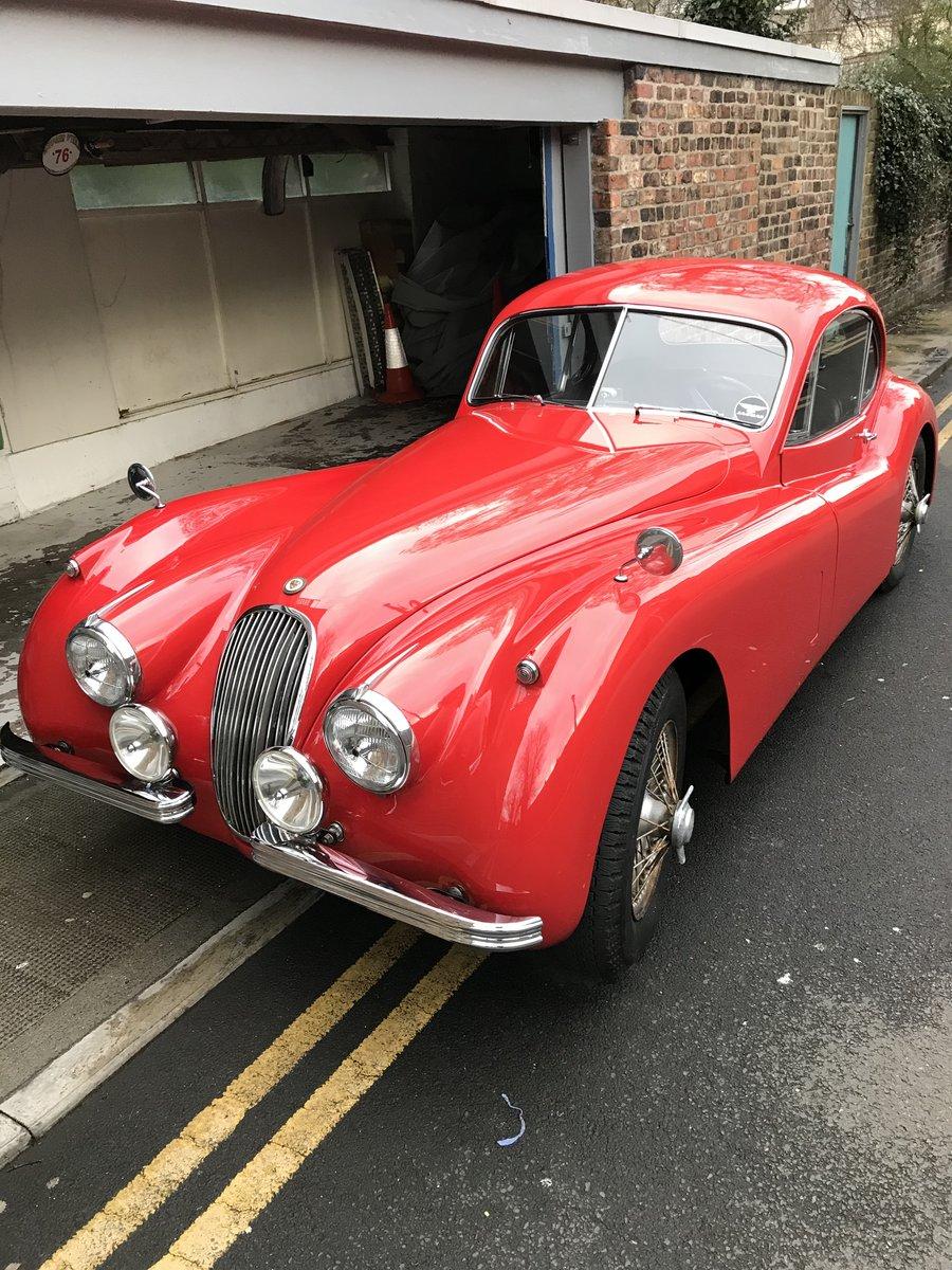 1953 Jaguar XK 120 se FHC . For Sale (picture 6 of 6)