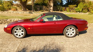 1997 XK8 Convertible in Carnival Red - Very Low Mileage