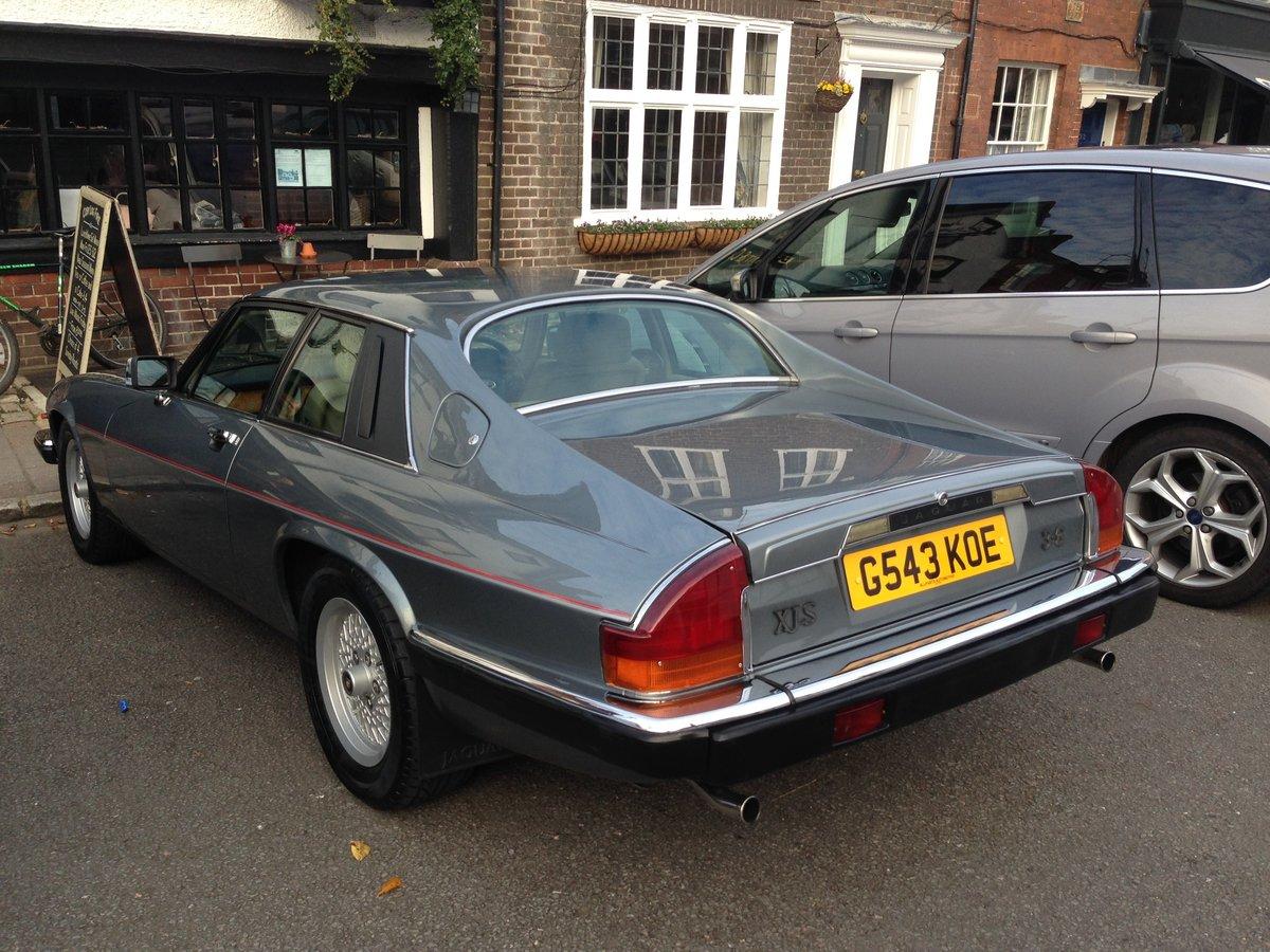 1990 Jaguar XJS 3.6 Auto Mint  SOLD (picture 3 of 6)