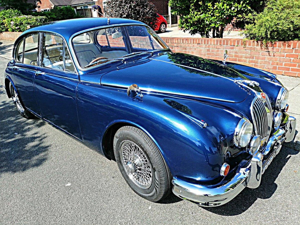 1961 Jaguar Mk2 3,4 Saloon, Manual/Overdrive/PAS For Sale (picture 1 of 6)