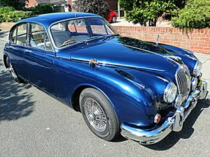 1961 Jaguar Mk2 3,4 Saloon, Manual/Overdrive/PAS For Sale