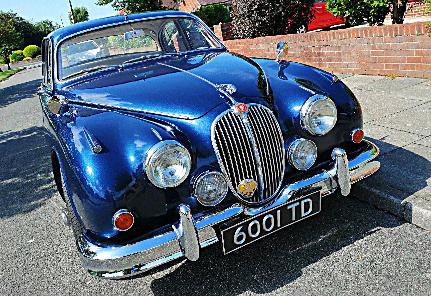 1961 Jaguar Mk2 3,4 Saloon, Manual/Overdrive/PAS For Sale (picture 5 of 6)