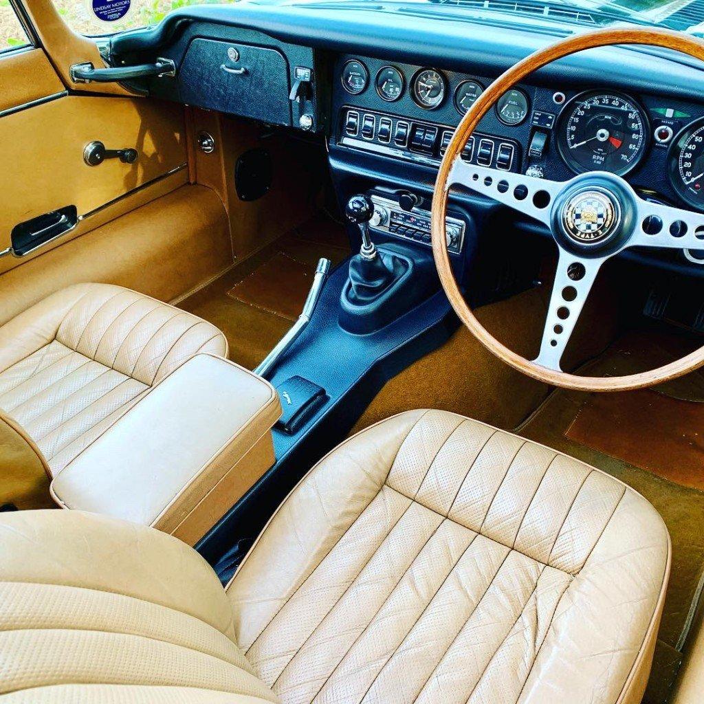 1972 jaguar E type S3 V12 2+2 For Sale (picture 3 of 6)