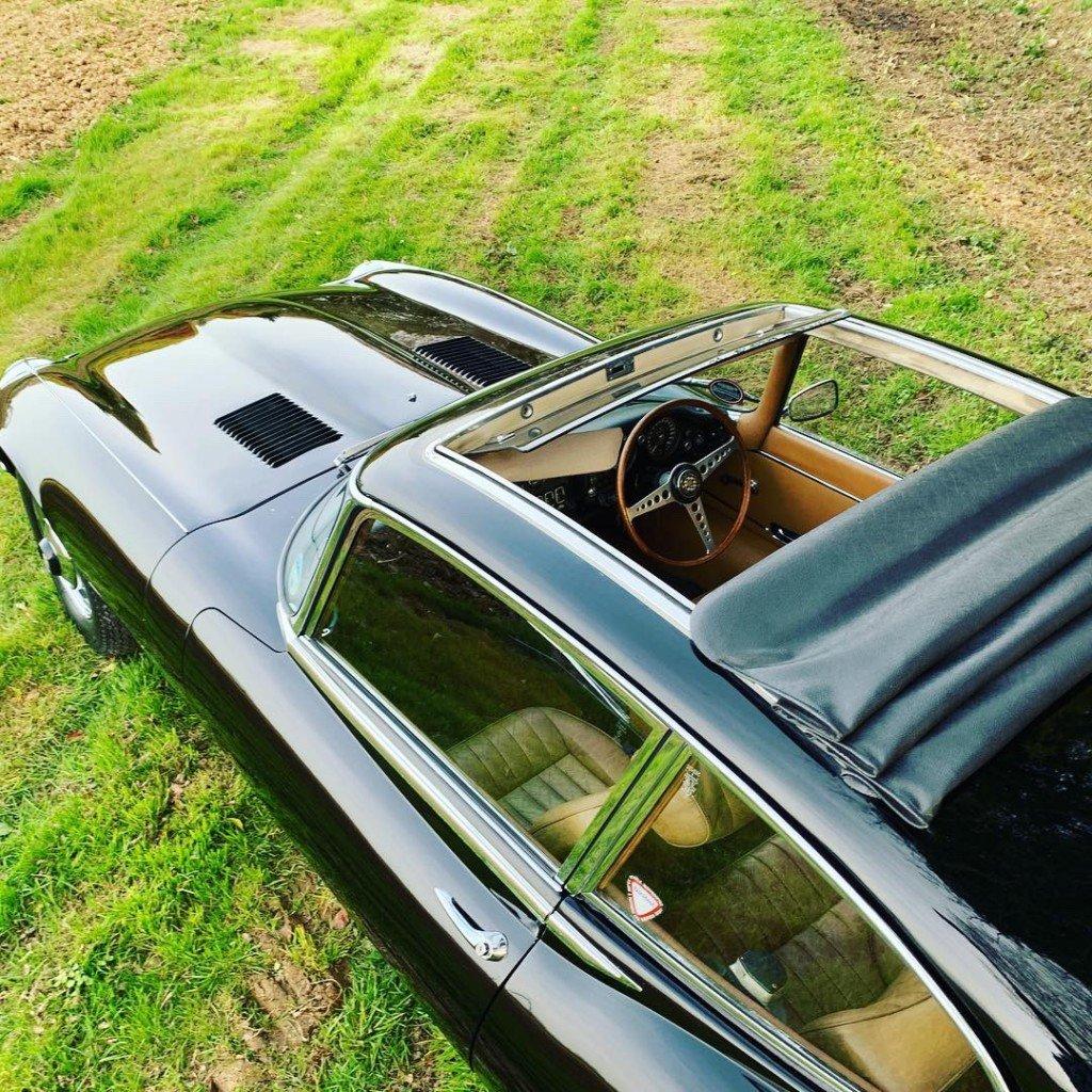 1972 jaguar E type S3 V12 2+2 For Sale (picture 5 of 6)