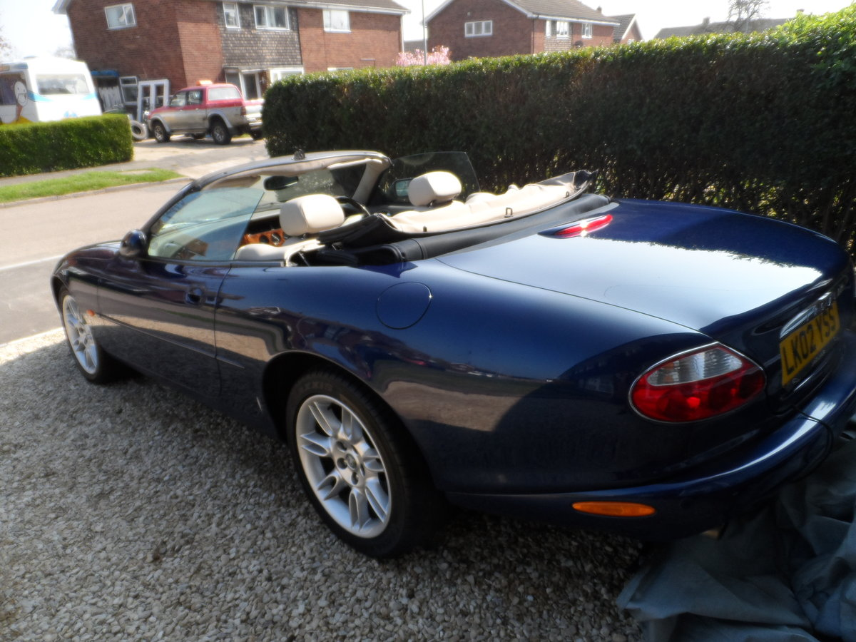 2002 Jaguar XK8 Auto Convertable Sport For Sale (picture 3 of 6)