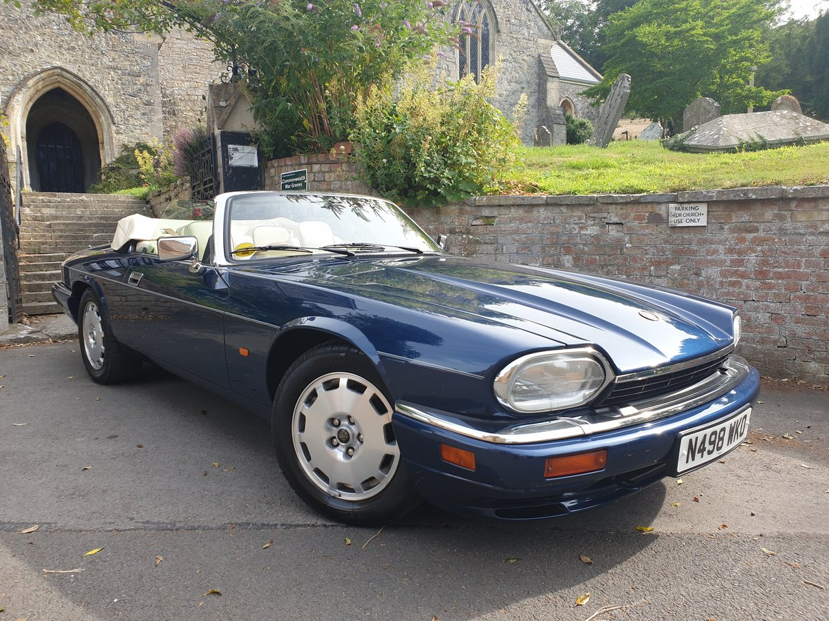 1995 Jaguar XJS 4.0 Celebration 1 owner from new  For Sale (picture 1 of 6)
