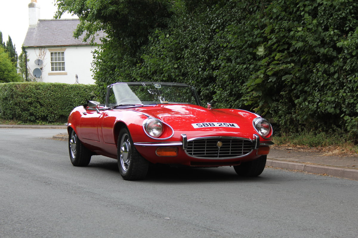 1973 Jaguar E-Type V12 Roadster- UK Manual, 1 owner 35 years For Sale (picture 1 of 24)