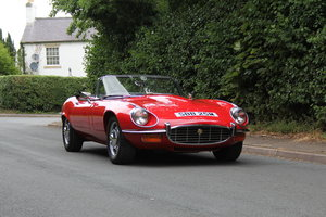 1973 Jaguar E-Type V12 Roadster- UK Manual, 1 owner 35 years For Sale