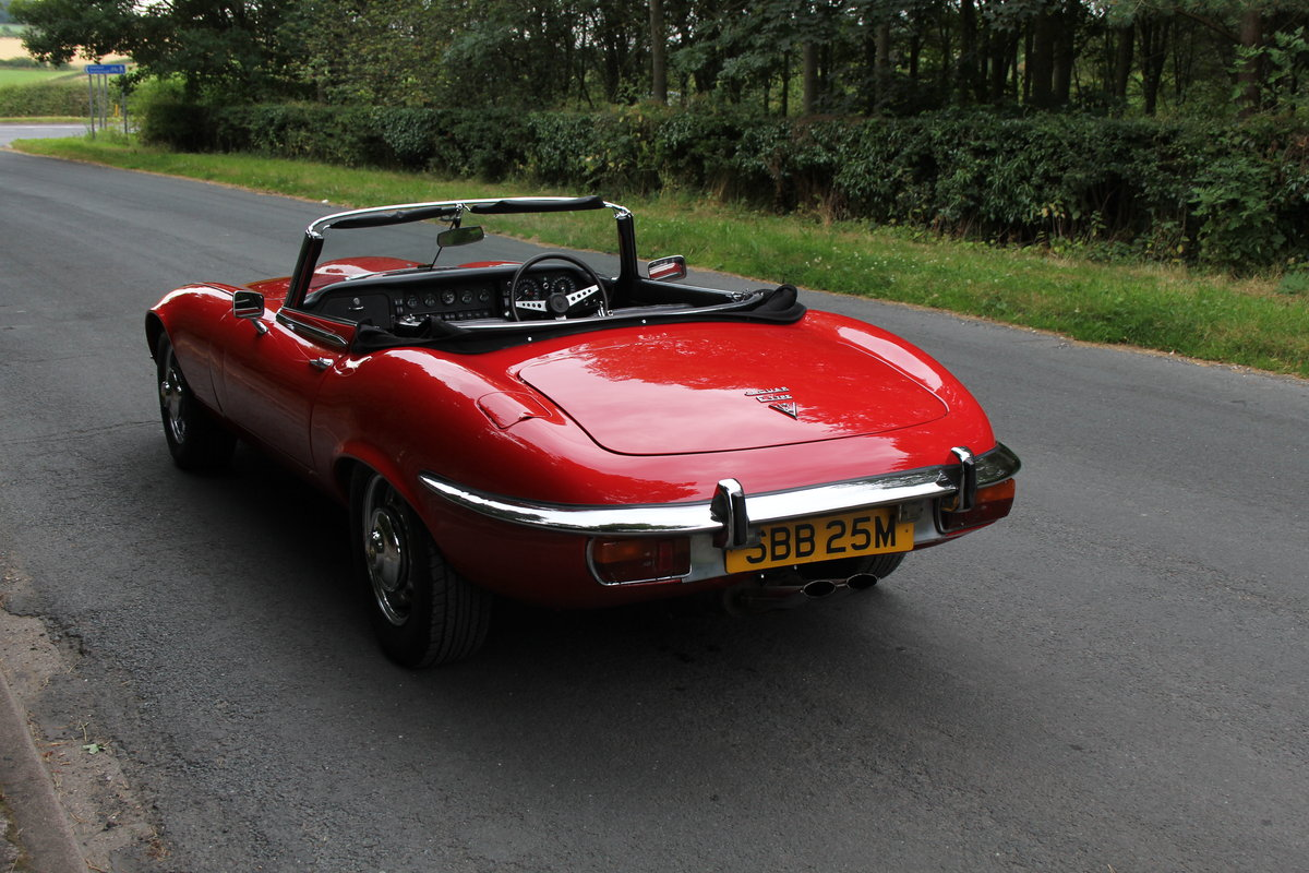 1973 Jaguar E-Type V12 Roadster- UK Manual, 1 owner 35 years For Sale (picture 4 of 24)