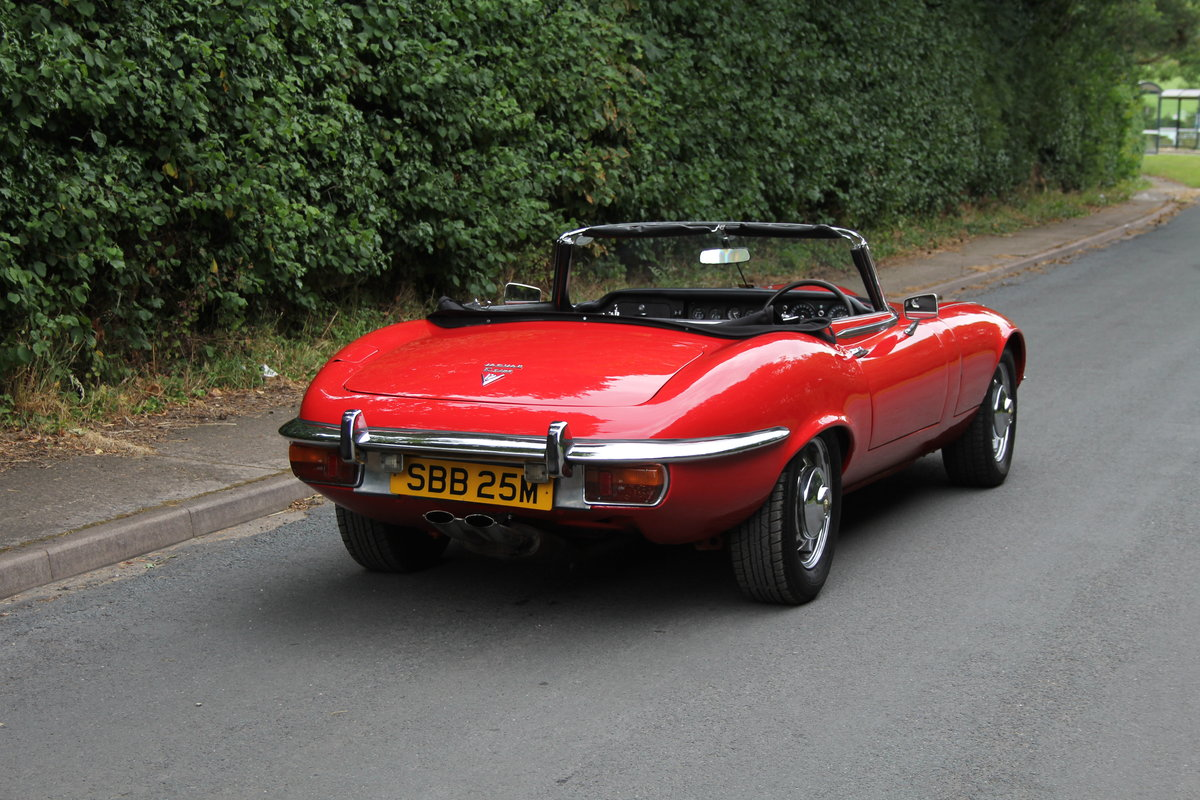 1973 Jaguar E-Type V12 Roadster- UK Manual, 1 owner 35 years For Sale (picture 6 of 24)