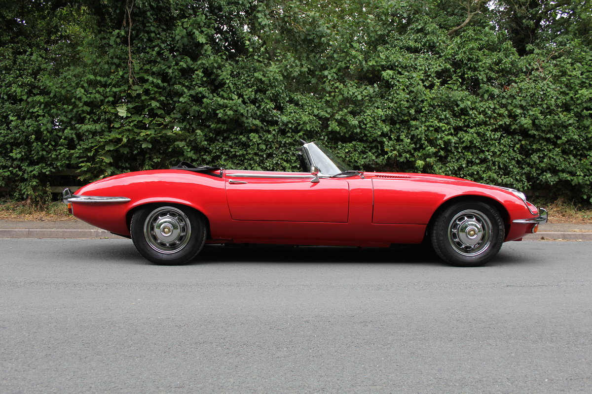 1973 Jaguar E-Type V12 Roadster- UK Manual, 1 owner 35 years For Sale (picture 7 of 24)