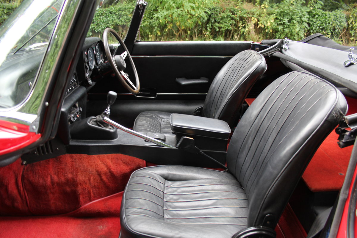 1973 Jaguar E-Type V12 Roadster- UK Manual, 1 owner 35 years For Sale (picture 12 of 24)