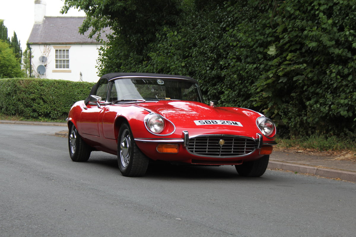 1973 Jaguar E-Type V12 Roadster- UK Manual, 1 owner 35 years For Sale (picture 22 of 24)