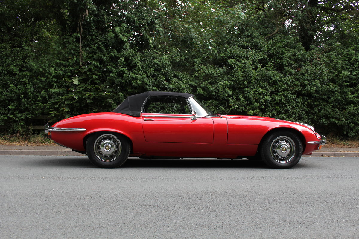 1973 Jaguar E-Type V12 Roadster- UK Manual, 1 owner 35 years For Sale (picture 24 of 24)
