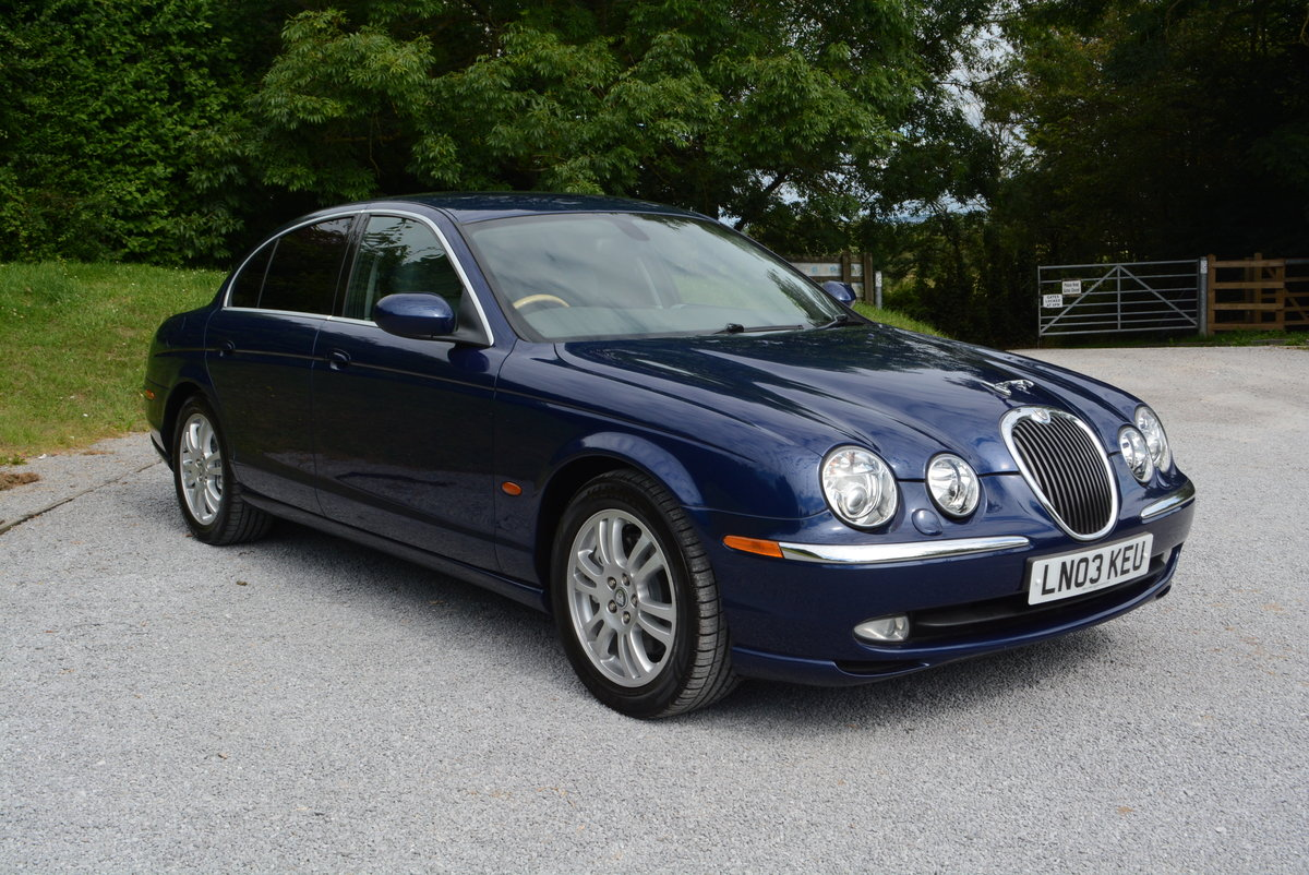 2003 Jaguar S-Type 4.2 V8 Japanese Import Stunning Condition  For Sale (picture 1 of 6)