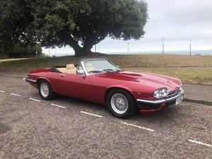 1985 Jaguar xjs convertible 3.6 manual restored new mot