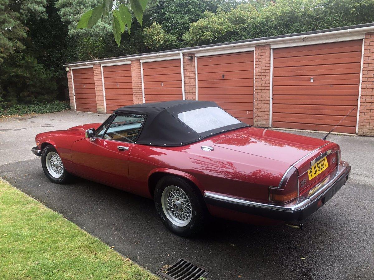 1985 Jaguar xjs convertible 3.6 manual restored new mot For Sale (picture 3 of 6)
