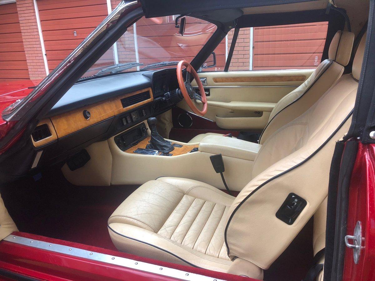 1985 Jaguar xjs convertible 3.6 manual restored new mot For Sale (picture 4 of 6)