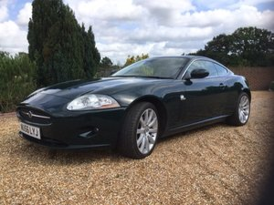 2006 56 Jaguar XK 4.2 Coupe in British Racing Green  For Sale