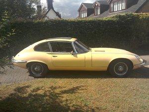 1972 Jaguar E type series 3 V12 For Sale