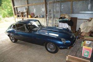 1970 Jaguar E-Type S2 4.2 2+2 For Sale by Auction