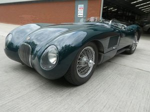 1953 Jaguar C Type Tool Room Reproduction - stunning SOLD