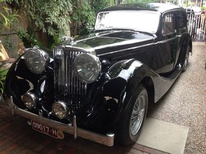 "1948 Jaguar Mk 4  reluctant sale ""A classic with Class"" SOLD"