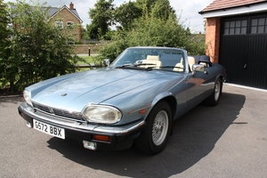 1989 Jaguar XJS 5.3L V12 Convertible For Sale